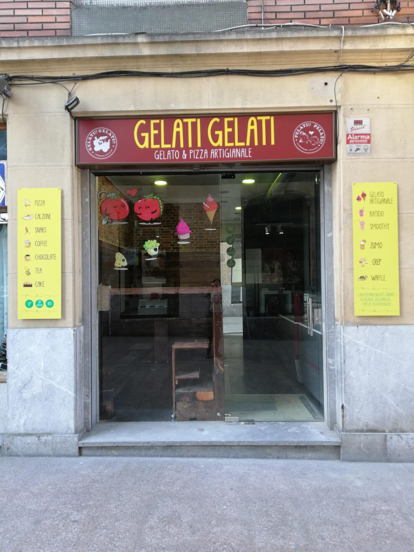 Nueva heladería artesanal Gelati Gelati en Durango