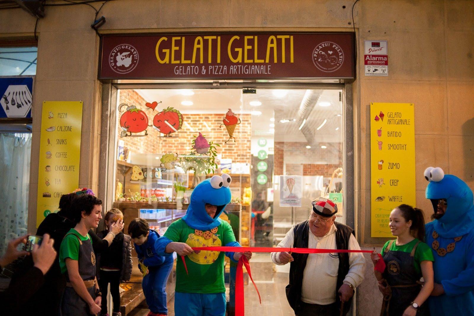 Inauguración heladeria artesanal en Durango Gelati Gelati