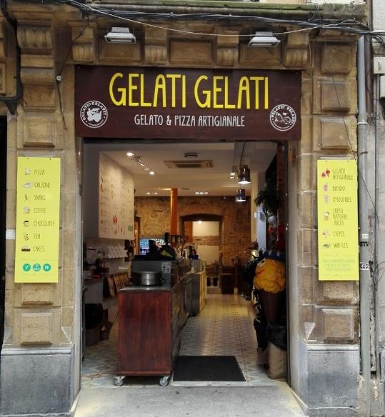 Gelati!! Gelati!! Heladería Italiana Casco Viejo Bilbao